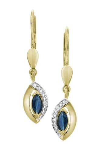 Firetti Paar Ohrhänger »elegant«, mit Saphir und Brillanten kaufen