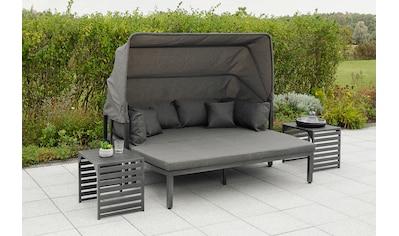 MERXX Loungeset »Argos Insel«, (3 St.), 3er Set, Aluminium, grau kaufen