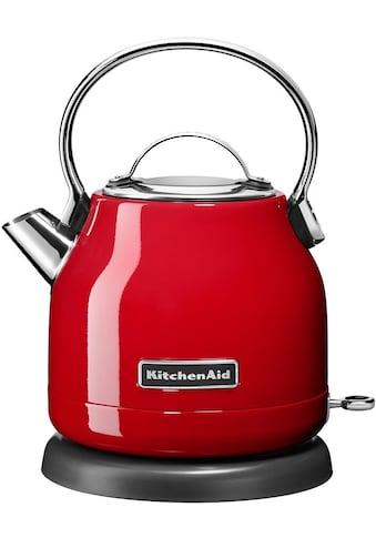 KitchenAid Wasserkocher, 5KEK1222EER, 1,25 Liter, 2200 Watt kaufen