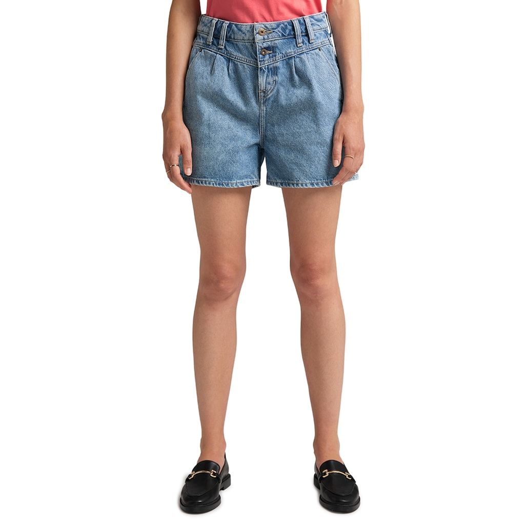 MUSTANG Jeansshorts »Relaxed Moms Shorts«, lockerer Schnitt