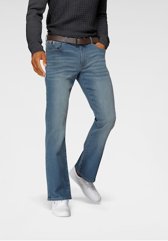 H.I.S Bootcut-Jeans »BOOTH«, (Set, mit abnehmbarem Gürtel), Nachhaltige,... kaufen