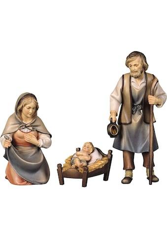 ULPE WOODART Krippenfigur »Hl. Familie«, Handarbeit, hochwertige Holzschnitzkunst kaufen