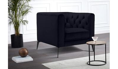 Leonique Chesterfield - Sessel »Narmada« kaufen