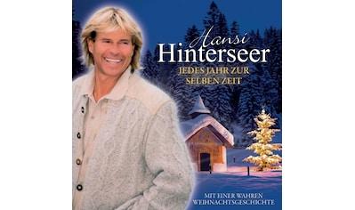 Musik-CD »Jedes Jahr Zur Selben Zeit / Hinterseer,Hansi« kaufen