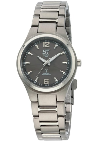 ETT Funkuhr »Everest 2, ELS-11326-11ME«, (Set, 2 tlg., Uhr mit Ladelampe) kaufen