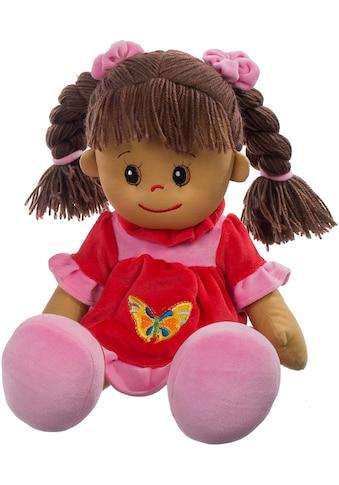 Heunec® Stoffpuppe »Poupetta Lucy mit braunem Haar 50 cm«, (1 tlg.) kaufen