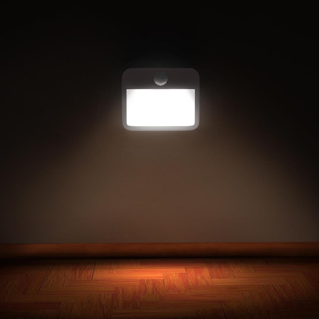 Brandson Nachtleuchte mit Bewegungsmelder & Helligkeitssensor
