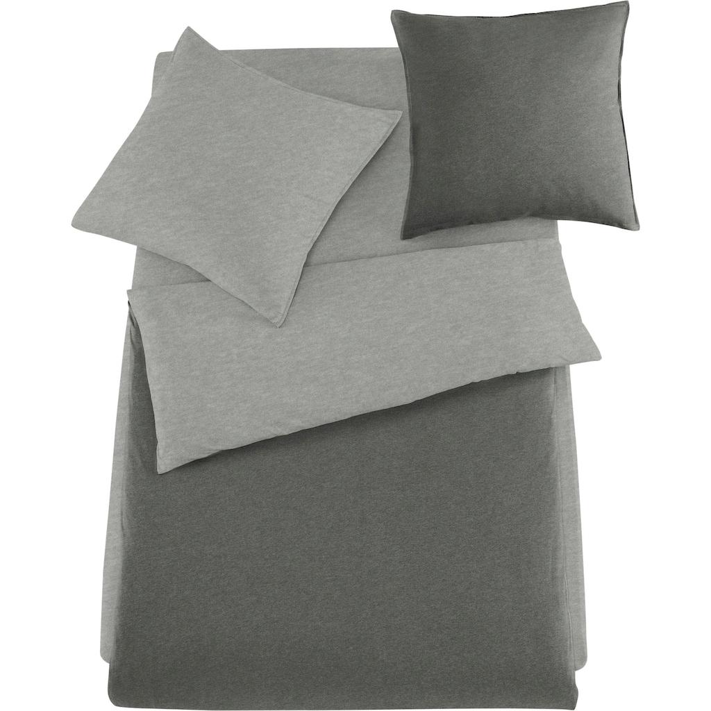 Schlafgut Wendebettwäsche »Melange Uni«, passend zu Spannbettlaken und Kissenbezug
