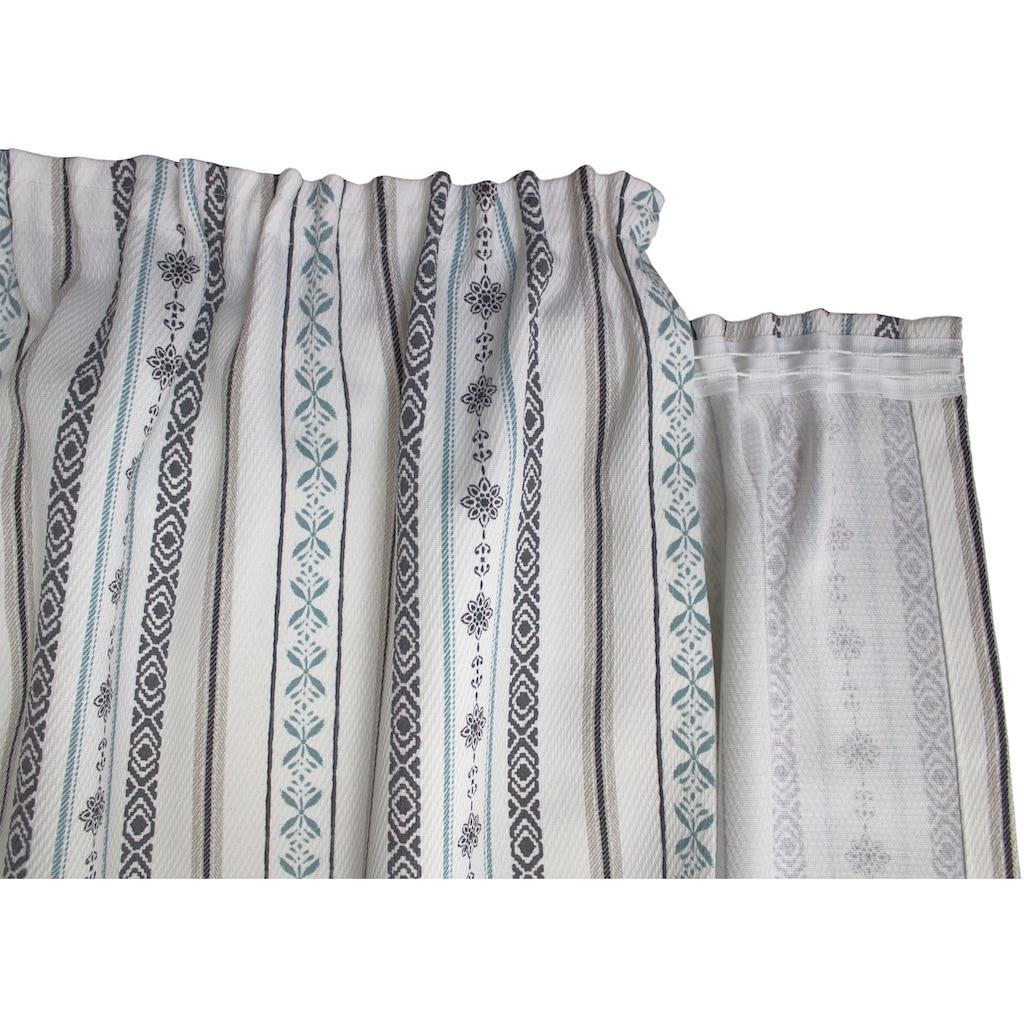 VHG Vorhang »Devin«, Bleistiftband