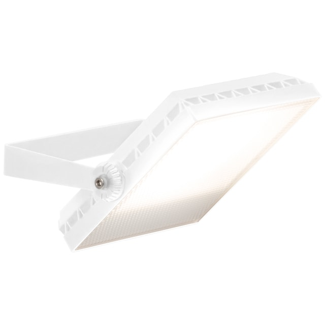 Brilliant Leuchten Dryden LED Außenwandstrahler 16cm weiß