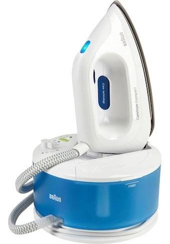 Braun Dampfbügelstation »CareStyle Compact IS 2043, blau«, max. Dampfmenge 350g/min,... kaufen