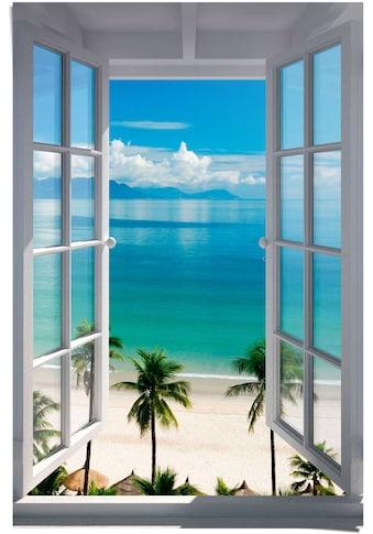 Reinders! Poster »Fenster zum Strand«, (1 St.) kaufen