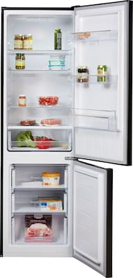Kühl- Gefrierkombination Innenansicht