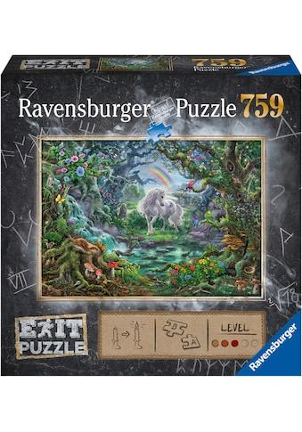 """Ravensburger Puzzle """"Exit 9: Das Einhorn"""" kaufen"""