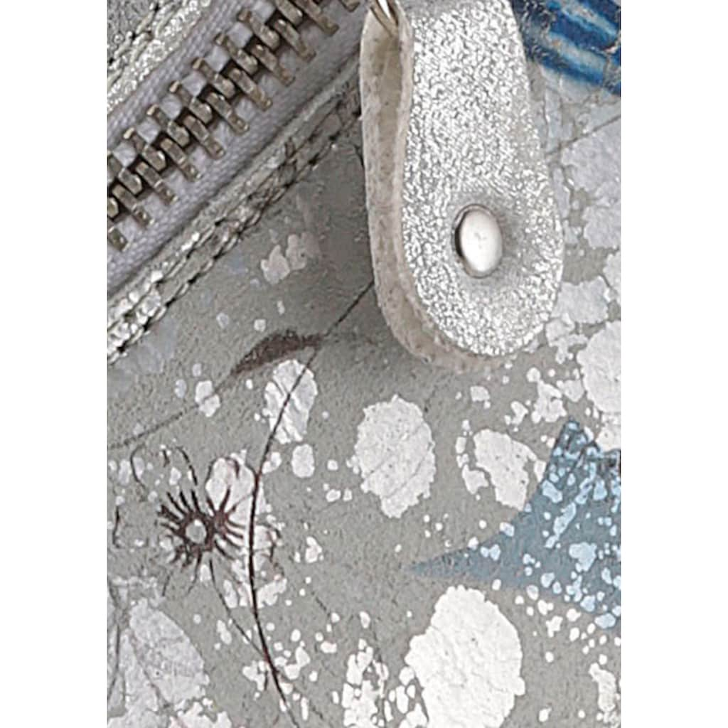 Remonte Schnürschuh, mit Blumenprint