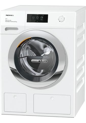 Waschtrockner, Miele, »WTW870 WPM PWash & TDos 9/6 kg WT1  Lotosweiß« kaufen
