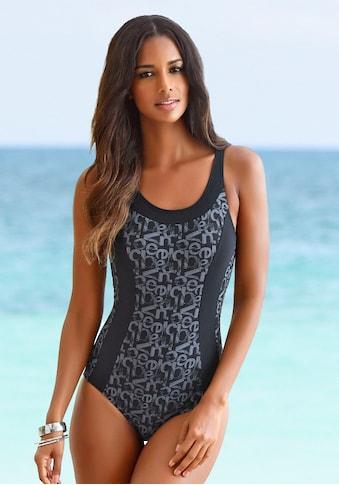 Venice Beach Badeanzug »Karibik«, mit trendigem Alloverdruck und Shaping-Effekt kaufen