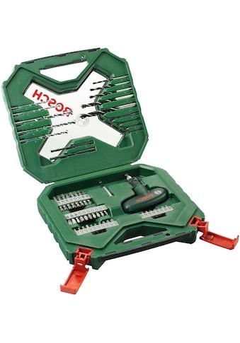 BOSCH Bohrersatz »X-Line Classic«, (54 tlg.), Bohrer- und Schrauber-Set kaufen
