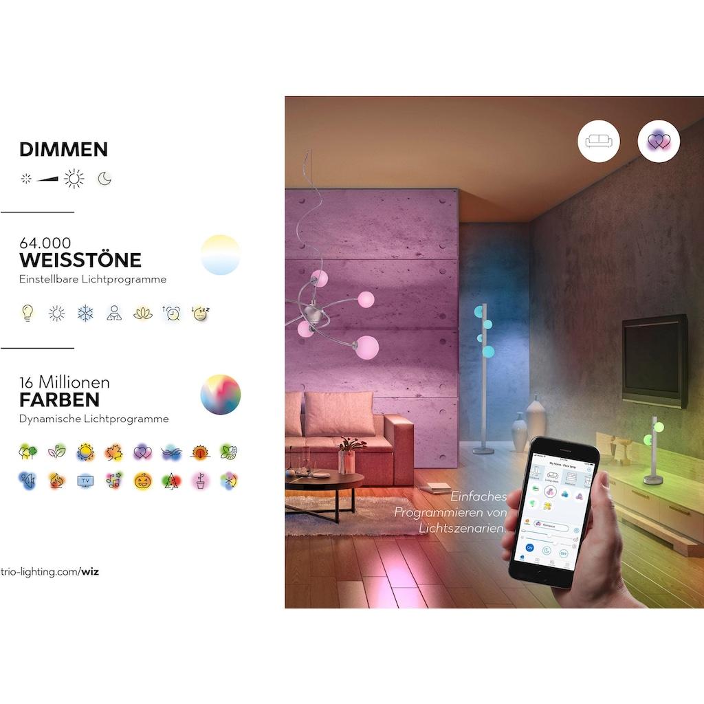 TRIO Leuchten LED Deckenleuchte »GEMINI«, LED-Board, Warmweiß-Neutralweiß, Mit WiZ-Technologie für eine moderne Smart Home Lösung
