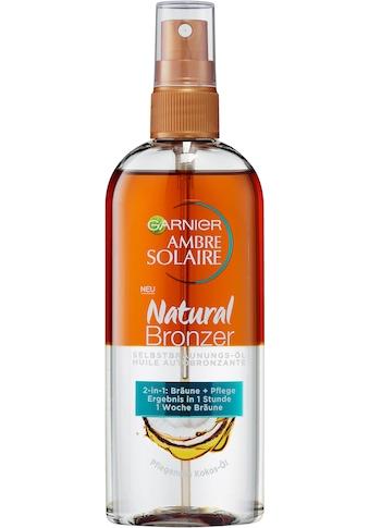 GARNIER Selbstbräunungsöl »Ambre Solaire Natural Bronzer 2-in-1-Öl« kaufen