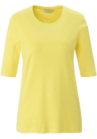 Peter Hahn T-Shirt »Rundhals-Shirt mit 1/2-Arm« kaufen