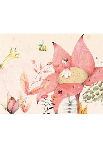 Wall-Art Fototapete »Loske - Däumelinchen 01« kaufen