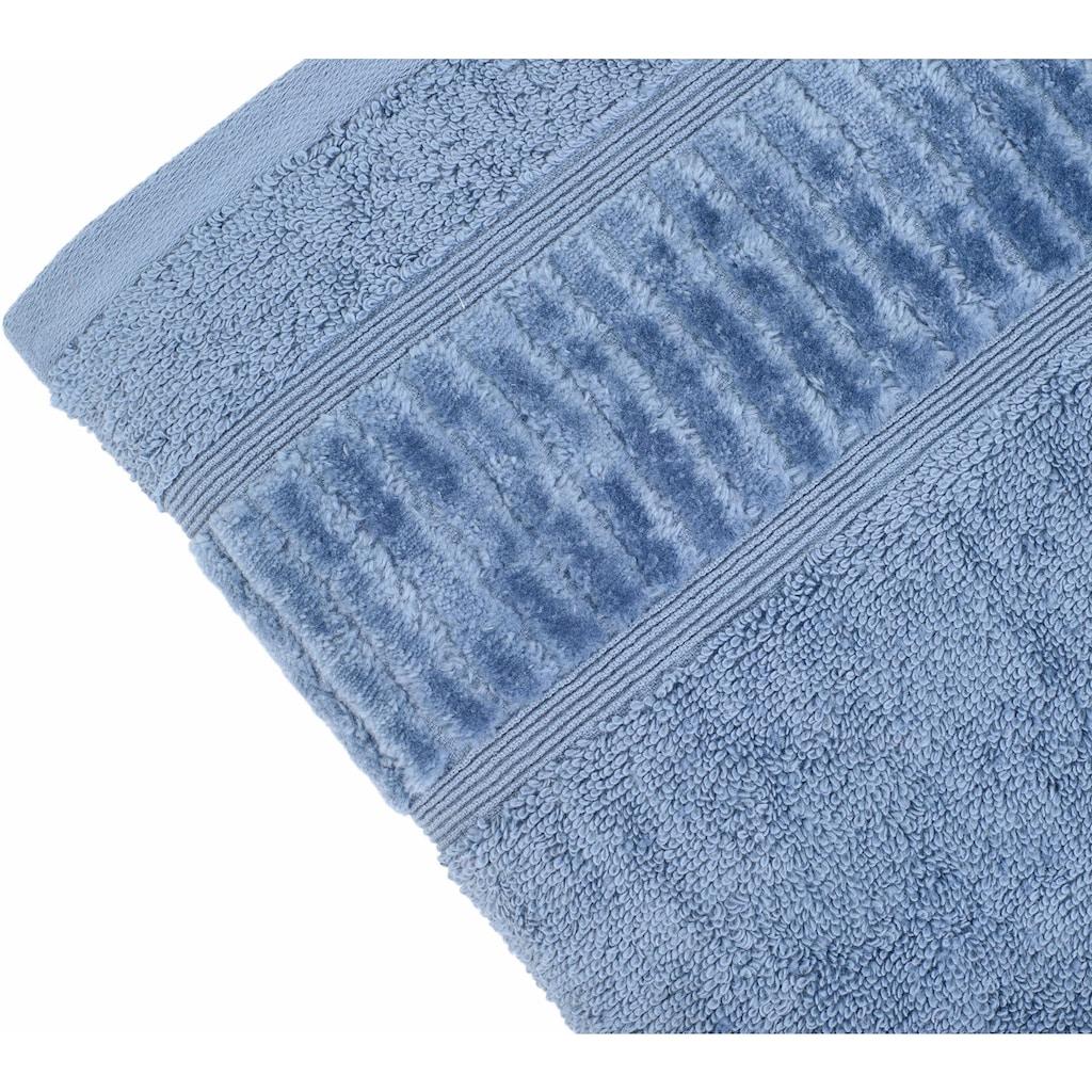 Gözze Handtücher »Uni«, (2 St.), aus GOTS zertifizierter Bio-Baumwolle