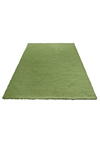 my home Hochflor-Teppich »Magong«, rechteckig, 25 mm Höhe, besonders weich durch... kaufen