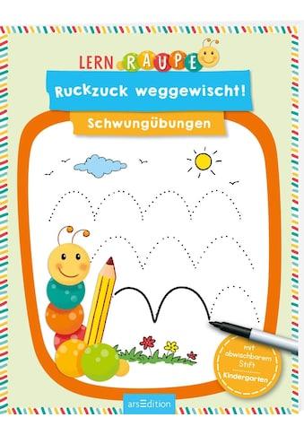 Buch Lernraupe  -  Ruckzuck weggewischt! Schwungübungen / Corina Beurenmeister kaufen