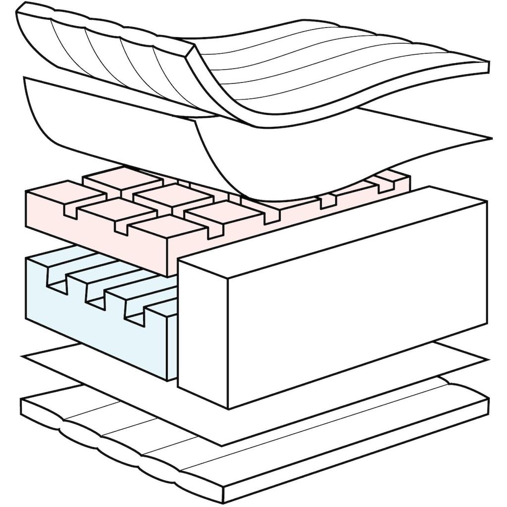 Julius Zöllner Kindermatratze »Air Sensitive«, 10 cm cm hoch, (1 St.), besonders sensible Babyseite