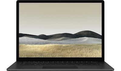 "Microsoft Surface Laptop 3 15"" – 8GB / 256GB Ryzen™ 5 Mattschwarz Notebook (38 cm / 15 Zoll, AMD,Ryzen 5, 256 GB SSD) kaufen"