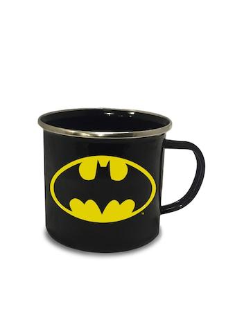 LOGOSHIRT Emaillebecher mit Batman-Logo kaufen