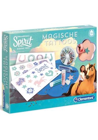 """Clementoni® Kreativset """"Spirit, Magische Tattoos"""" (Set) kaufen"""