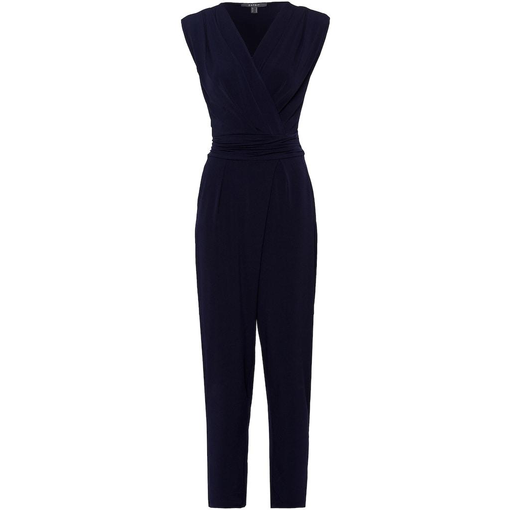 Esprit Collection Jumpsuit, in angesagter Wickeloptik