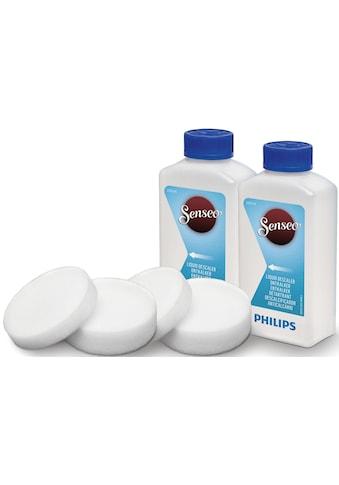 Senseo Flüssigentkalker »CA6521/00«, (2x 250 ml Entkalkungsflüssigkeit, 2x dünne und... kaufen