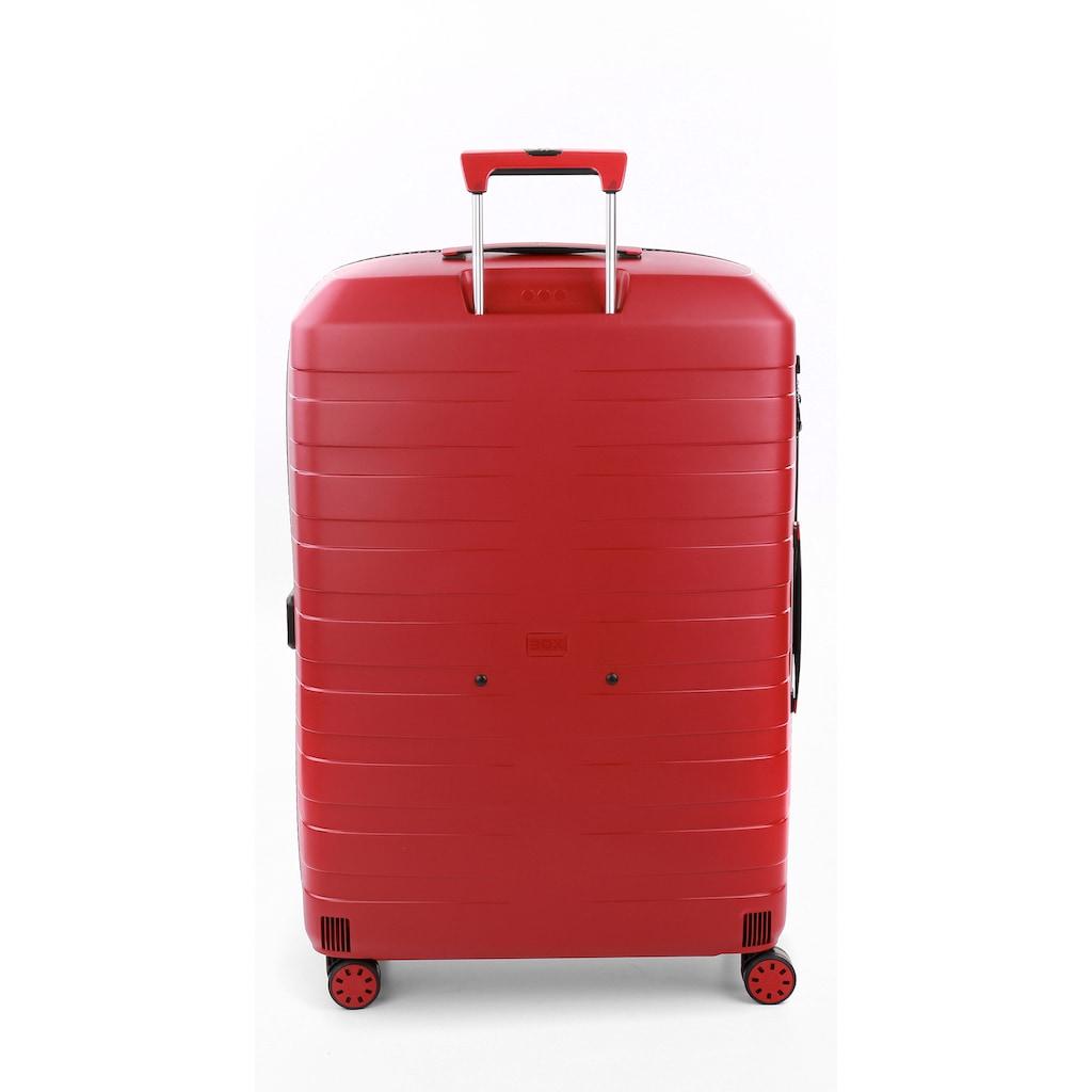 RONCATO Hartschalen-Trolley »BOX 4.0, 80 cm«, 4 Rollen, mit Volumenerweiterung; Made in Europe
