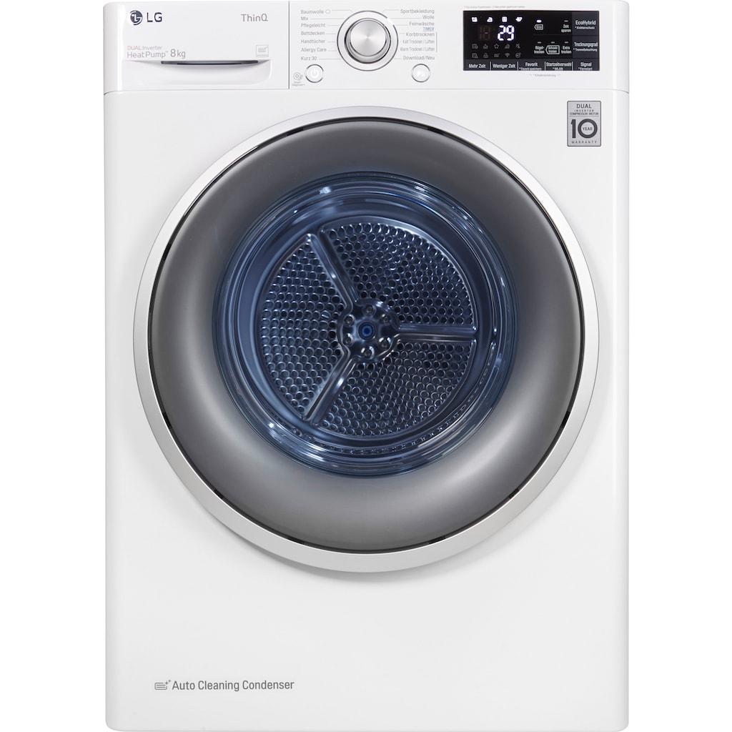 LG Wärmepumpentrockner »RT8DIH1Q«, 8 kg