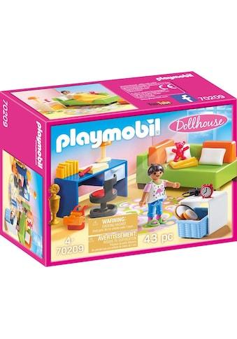 Playmobil® Konstruktions-Spielset »Jugendzimmer (70209), Dollhouse«, (43 St.), Made in... kaufen