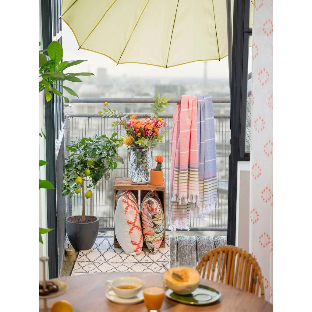TOM TAILOR Esstisch »T-SOHO TABLE ROUND«, runder Esstisch, Platte aus Mangoholz, Beine aus Metall