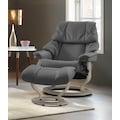 Stressless® Relaxsessel »Reno«, mit Classic Base, Größe S, M & L, Gestell Whitewash