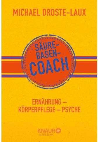 Buch »Säure-Basen-Coach / Michael Droste-Laux« kaufen
