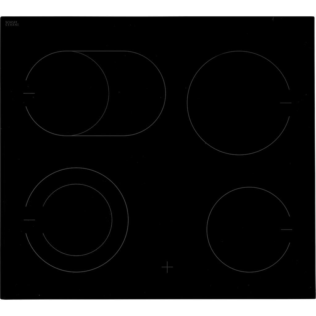 Amica Elektro-Herd-Set »EHC 934 001 E«, EHC 934 001 E, mit 3-fach-Teleskopauszug, Simple Steam Reinigungsfunktion, SteamClean