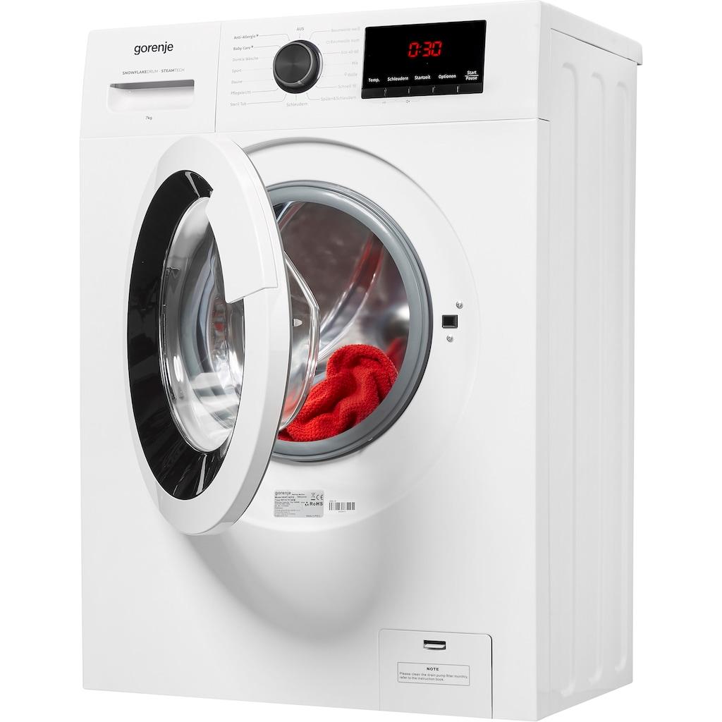 GORENJE Waschmaschine »WHP74EPS«, WHP74EPS, 7 kg, 1400 U/min