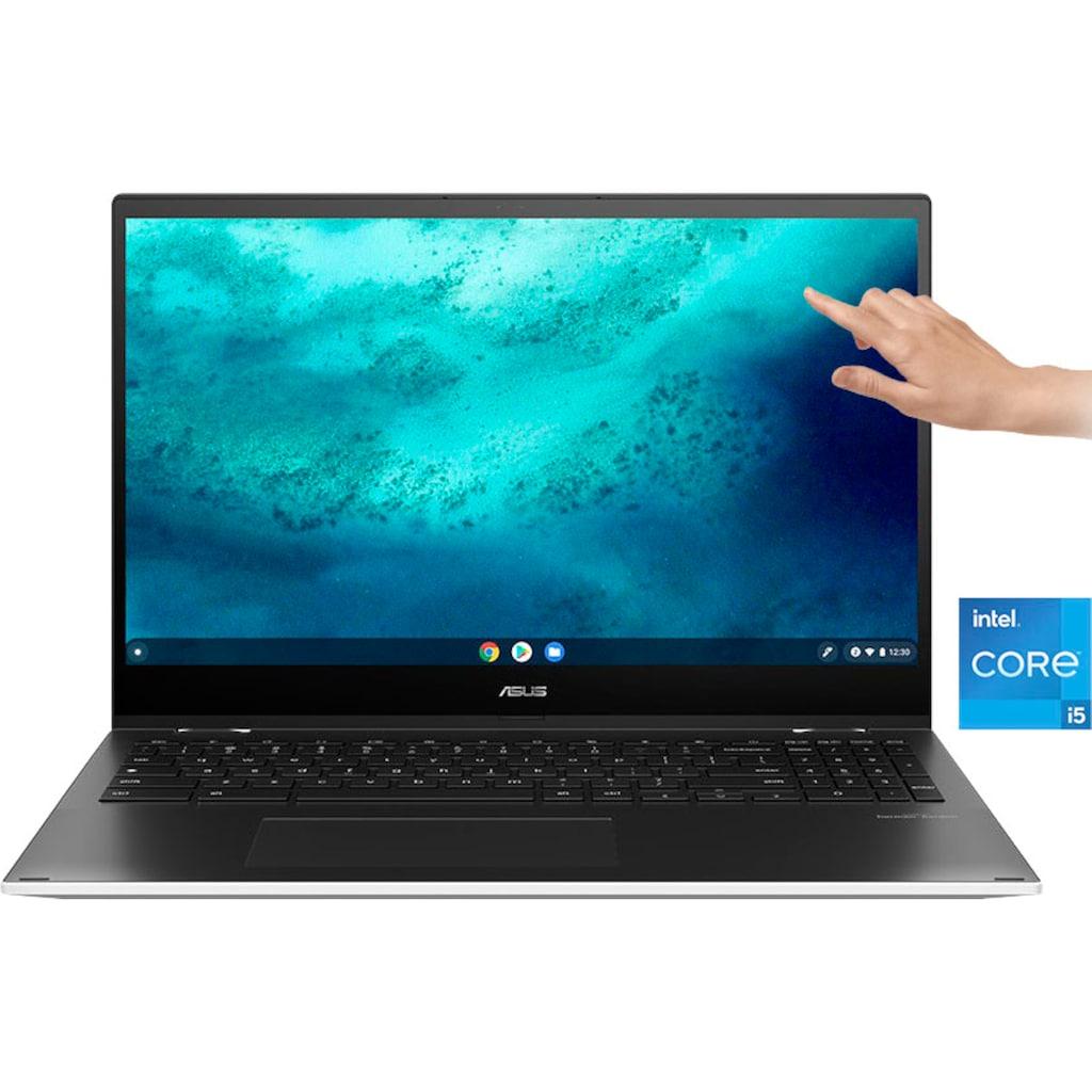 "Asus Notebook »CX5500FEA-E60030«, (39,62 cm/15,6 "" Intel Core i5 UHD Graphics\r\n 256 GB SSD), Kostenloses Upgrade auf Windows 11, sobald verfügbar"