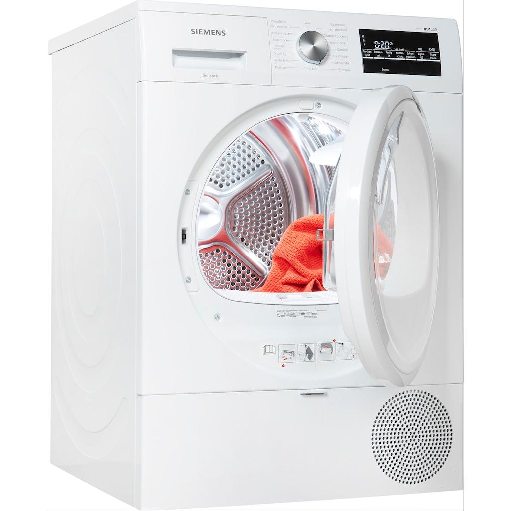 SIEMENS Wärmepumpentrockner »WT47R440«, iQ500