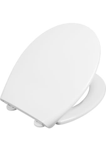 CORNAT Packung: WC - Sitz »WC - Sitz PYLEA«, PYLEA WC - Sitz SC abnehmbar weiss kaufen