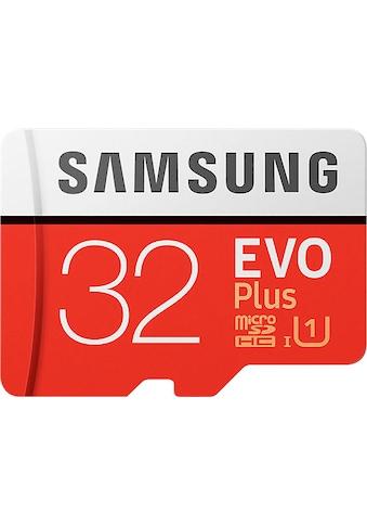Samsung Speicherkarte »EVO Plus 2017 microSD«, (UHS Class 1 95 MB/s Lesegeschwindigkeit) kaufen