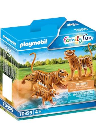 Playmobil® Konstruktions-Spielset »2 Tiger mit Baby (70359), Family Fun«, (3 St.),... kaufen
