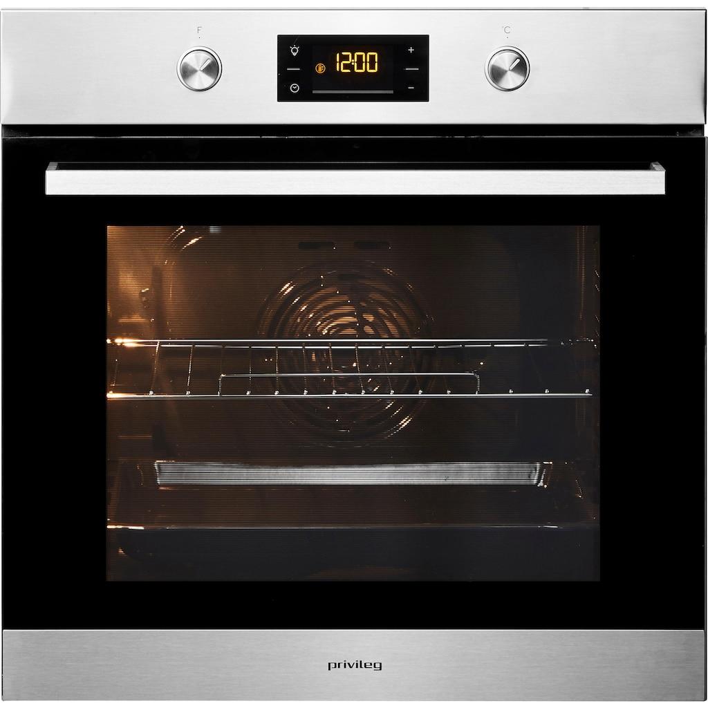 Privileg Backofen-Set »BAKO Turn&Cook 300«, Eco-Umluft
