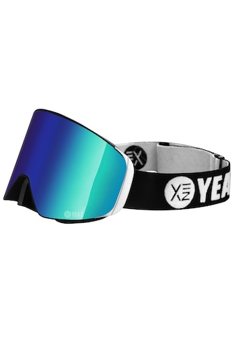 YEAZ Skibrille »APEX«, mit Magnet-Wechsel-System für Gläser, grün/silber kaufen